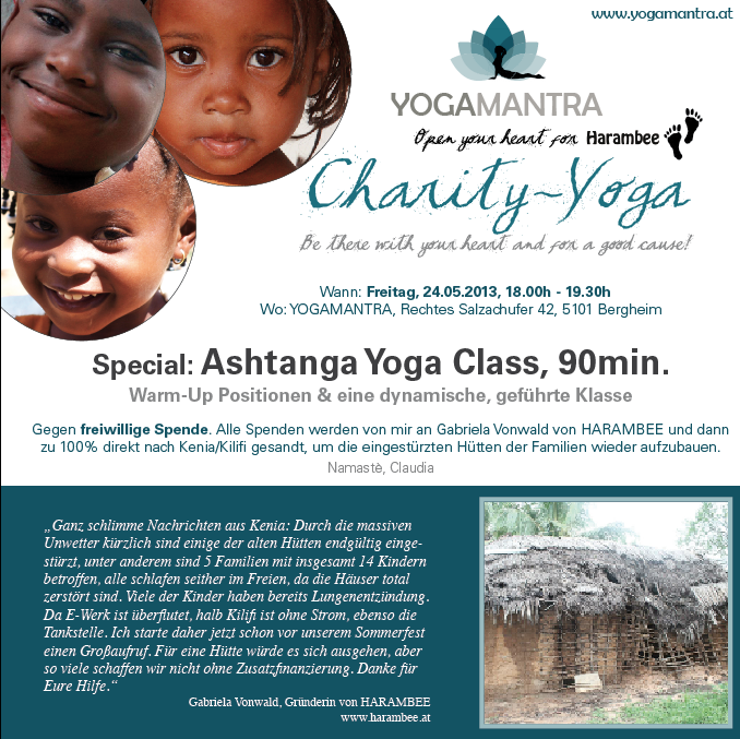 Charity Yoga for Harambee