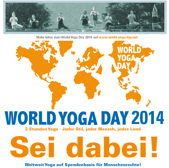 World Yoga Day 2014